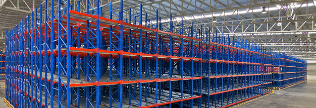 warehouse rack shelves