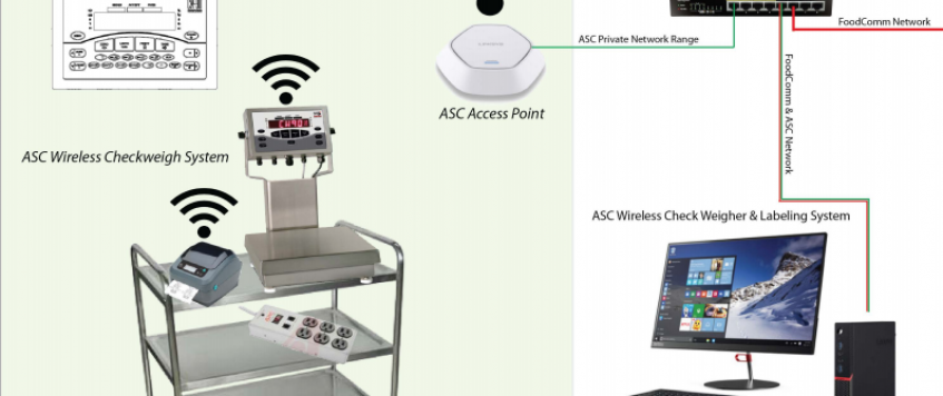 Wireless Checkweigher & Label Printing System