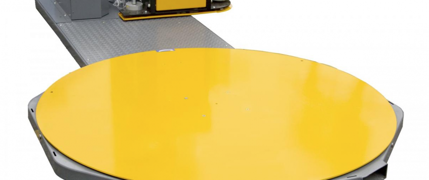 Semi-Automatic Stretch Wrap Machine, What are they and why do they save time/space?