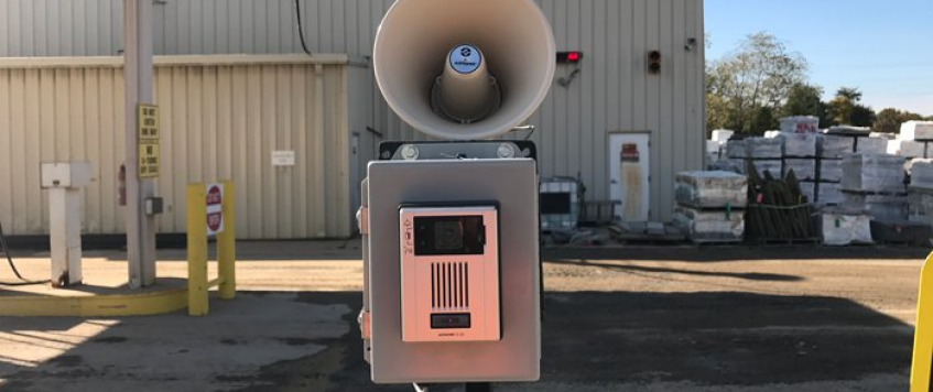 Truck Scale Video Intercom System in Maryland